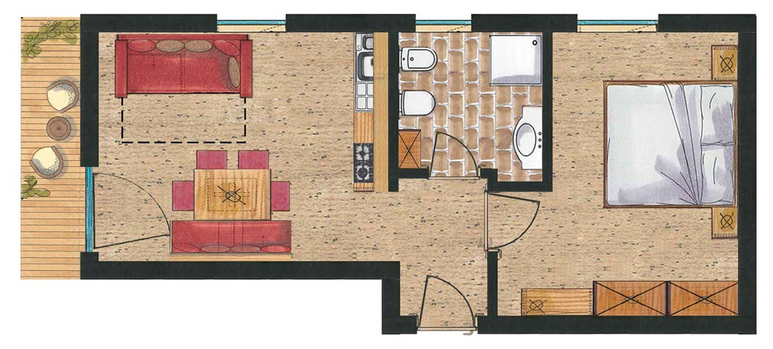 Room plan App. Primula